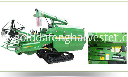 full feed rice combine harvester-control system 500 (1)
