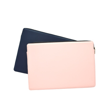 Customized Pu Leather Protect Notebook Case Laptop Bag