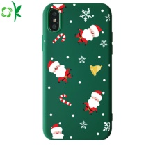 Popular Printed Logo Silicone Phone Case for Iphone