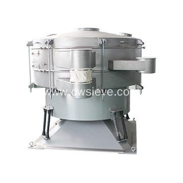 High capacity tumbler sieve for  flour