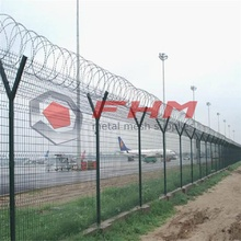 Welded Wire Mesh Airport Fence