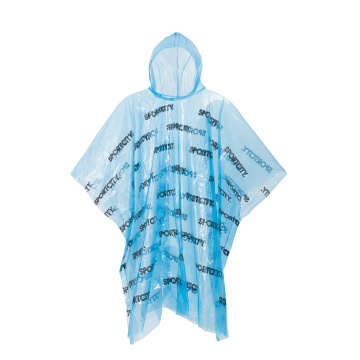 Disposable Full Printing PE Poncho
