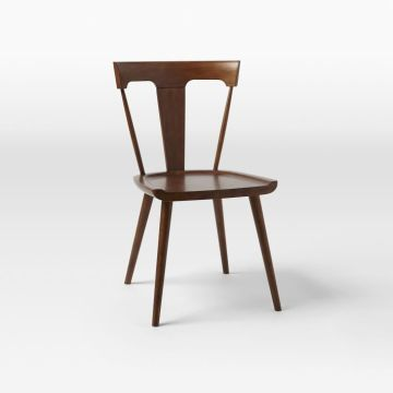 Chinese Professional for China Wood Replica Dining Chair,Luxury Replica Dining Chair,Replica Stainless Steel Dining Chair Factory Splat Dining Chair for restaurant room supply to Russian Federation Suppliers