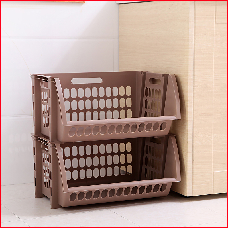 china 2 tier household storage basket manufacturers