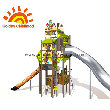 Children's Play Tower With Slide For Children