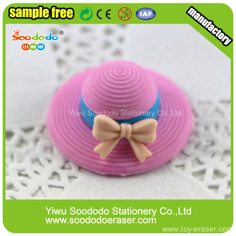 3D Cute Cake Shaped Eraser Display Box Packaging