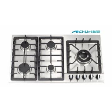 Online Gas Stove Five Burners Gas Stove