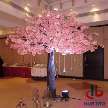 Real Trunk Artificial Flower Tree
