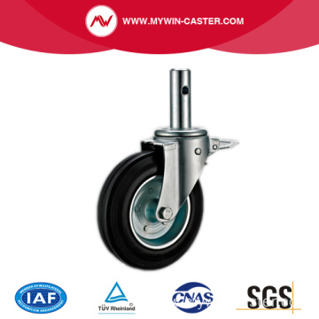 Rubber Tread Swivel Scaffolding Caster Wheel