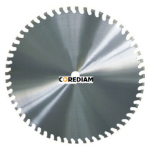 Renewable Design for Circular Saw Blade Laser welded reinforced concrete wall saw blade supply to Japan Factories