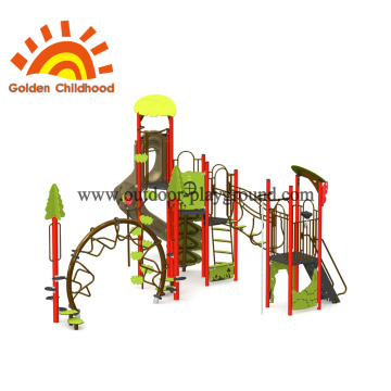 Natural Tree Outdoor Playground Equipment For Children