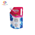 High Barrier Leakproof Plastic Spouted Detergent Pouch