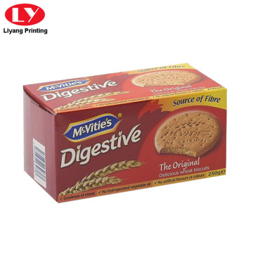 Biscuits Packaging Box with Full Color Printed