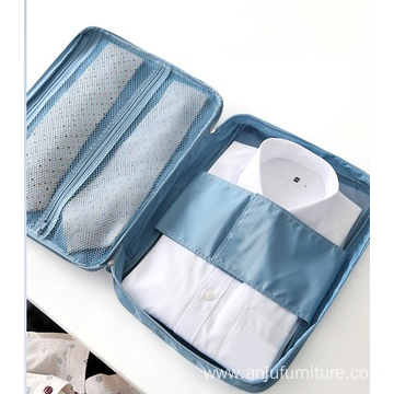 factory Men Multifunction Portable Travel Shirt Tie Organizer Bag Travel Storage Pouch for Cloths