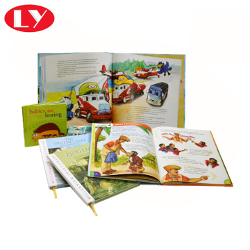 Custom Printed Children Card Book Printing Service