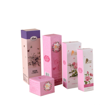 Square Empty Perfume Packaging Paper Boxes For Bottle