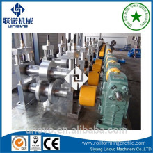 Electrical cabinet racking roll forming machine