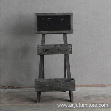 factory low price Used for Chalk Boards Wooden blackboard desk stand sturdy wood chalkboard export to Mayotte Wholesale
