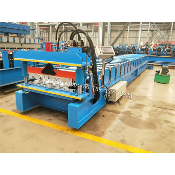 Aluminium/Glavanized Steel Trapezoidal Roof Sheet Machine