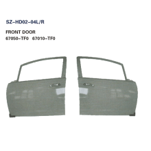 Customized for Offer Doors For HONDA,Honda Accord Door Replacement,Honda Civic Door Skin From China Manufacturer Steel Body Autoparts Honda 2009 FIT/JAZZ FRONT DOOR export to Cote D'Ivoire Exporter