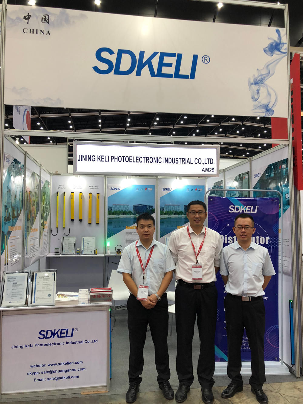 SDKELI attend Metalex in Bangkok
