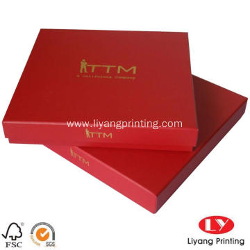 Simahla Akukho mlinganiselo ILogo Hot Stamping Scarf Box Packing Box