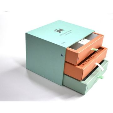 Custom 3 Layer Rigid Paper Boxes with Insert