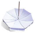 Promotional UV protection wooden pole beach umbrella