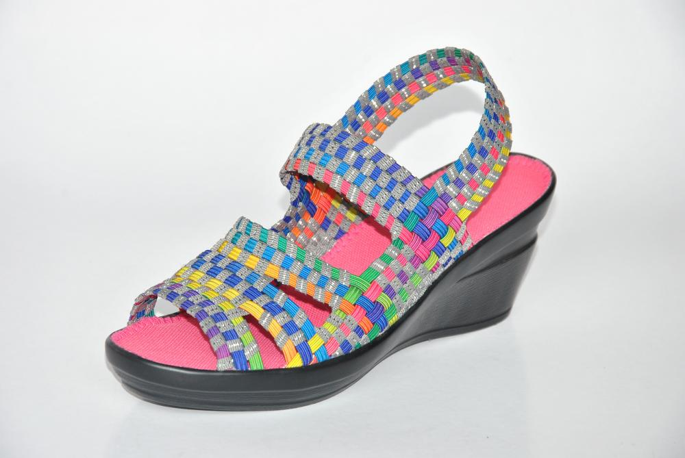 Open Toe Woven Sandals