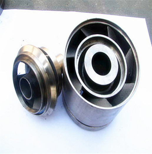 Precision casting of leaf guide wheel