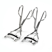 High quality fashion portable stainless steel handle eyelash curler for curling eyelash for cosmetic purpose