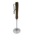 Stainless Steel Potato Masher with Wood handle