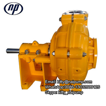 Abrasive and Corrosive Resistant Centrifugal Slurry Pump