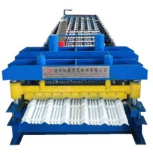 2018 Glazed tile roof forming machine