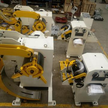 Professional for Metal Hydraulic Uncoiler Straightener Compact Decoiler Straightener supply to Tokelau Wholesale