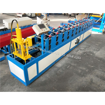 Shutter Door U Guide Rail Roll Forming Machine