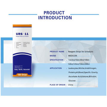 Urine Test Reagent Strips For Lose Weight URS-11