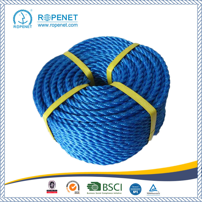 High Strength 3 Strands PP Twisted Rope for Agriculture