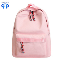 The new plain canvas backpack for women