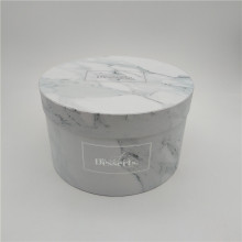Custom Luxury Round Flower Gift Boxes Hat Boxes