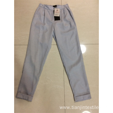 lady's casual pant yarn dye fabric