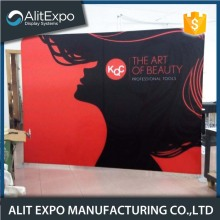 Customized exhibition tension fabric display backdrop booth