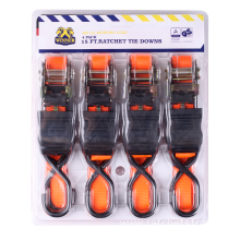 High Quality for Ratchet Tie Down 25MM Ratchet Tie Down with Blister Packaging supply to Dominican Republic Importers