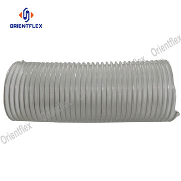 Light material handling pvc steel wire ducting tube