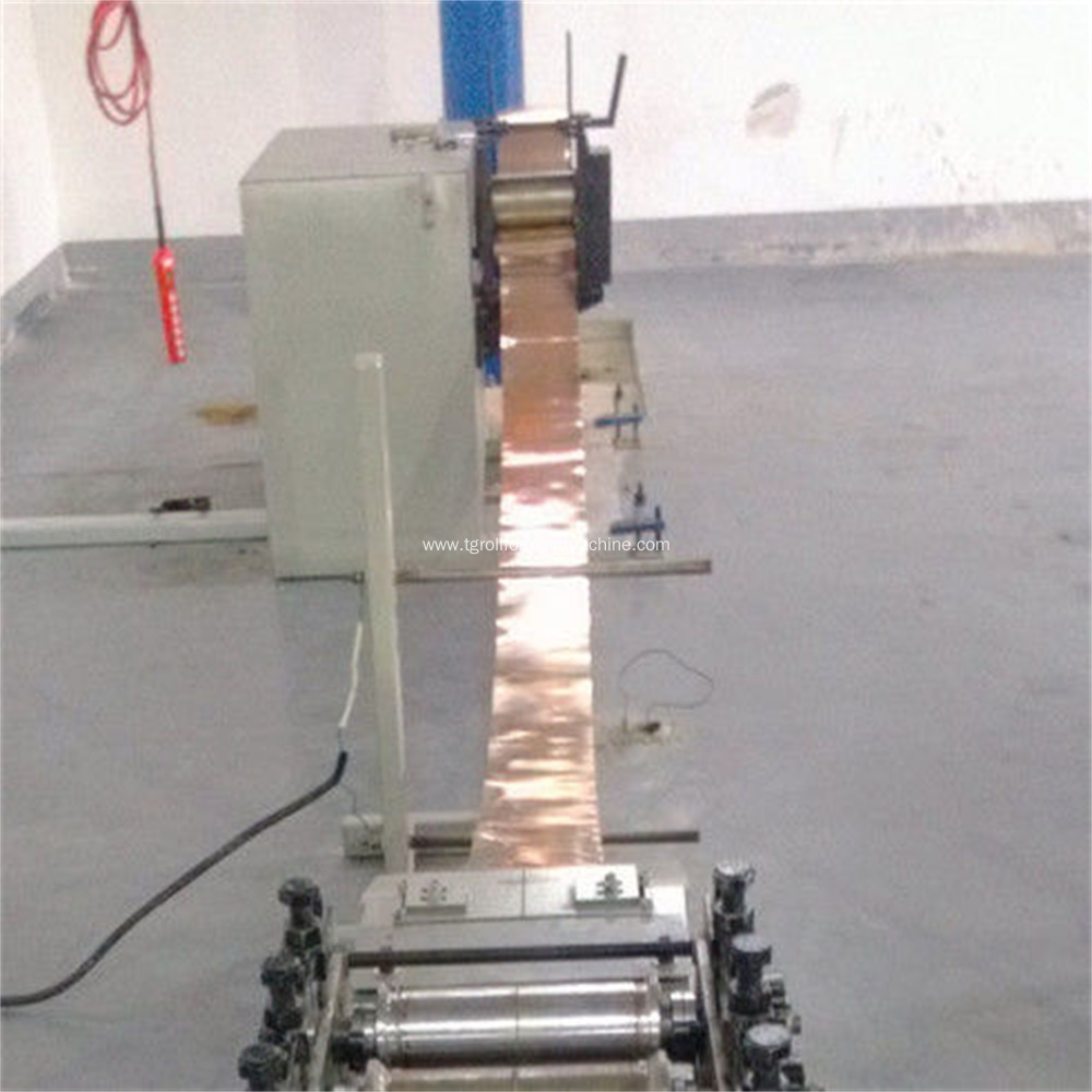Expanding Battery Plate Mesh Machine