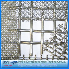 Heavy Duty Stainless Steel Crimpe Wire Mesh