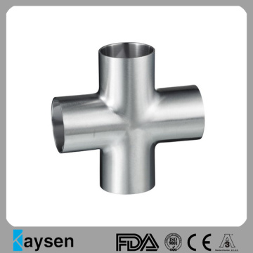 DIN11850/DIN11851 Sanitary Weld Cross