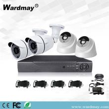 CCTV 4CH 2.0MP Security Alarm DVR Kits Systems