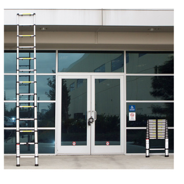 2.0m aluminum telescopic folding step ladder