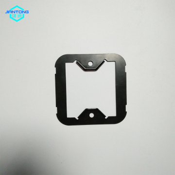 Black Coated Switch Panel Steel Stamped metal sheet